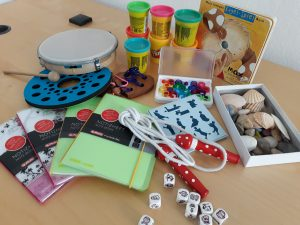 Colourful Training Material to explore your Intelligences